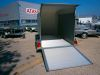 FOURGON ROADSTER 500 BOIS & POLY  3200*1670*2000 2000KG PORTE LATERALE